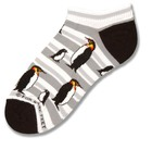 Penguin Fashion Stripes Sock