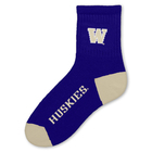 Washington Huskies Team Color Short Crew
