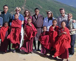 Group tours to Bhutan