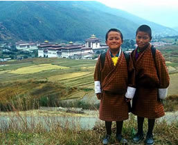 Private guide in Bhutan