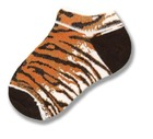 Tiger Print Kids Sock
