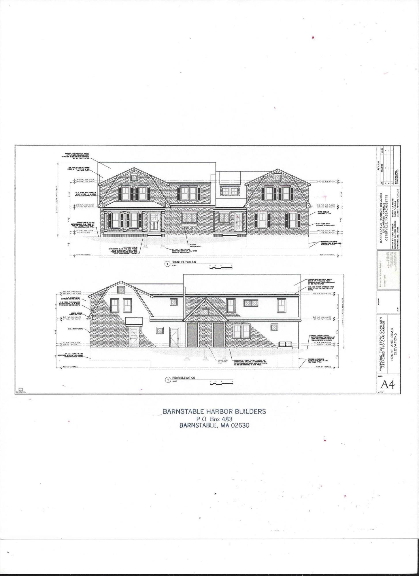 New Construction Homes in Barnstable MA