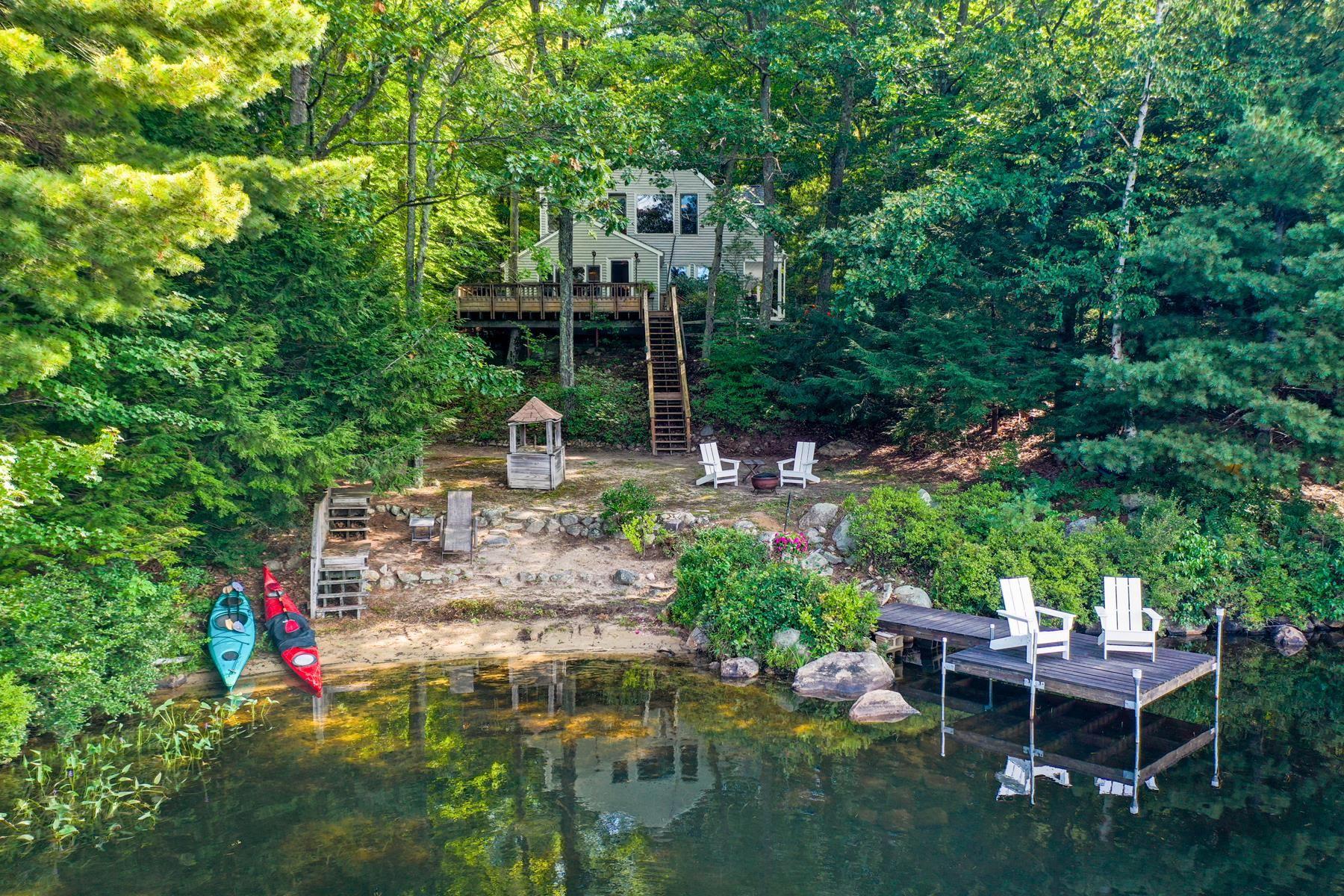 Shaws Pond - New Durham